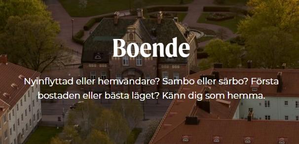 Hitta boende i Jönköping